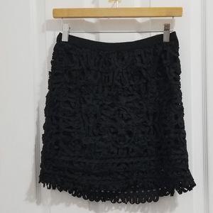 ‼️ 3/$20 Forever 21 Lace Black Skirt